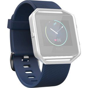NWT Fitbit Blaze Classic Band Blue